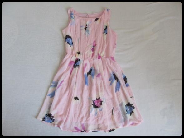 Świetna sukienka na lato rozmiar L 40 z podszewką