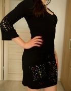 czarna sukienka S Desigual