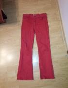 Czerwone spodnie marki Drop 164...