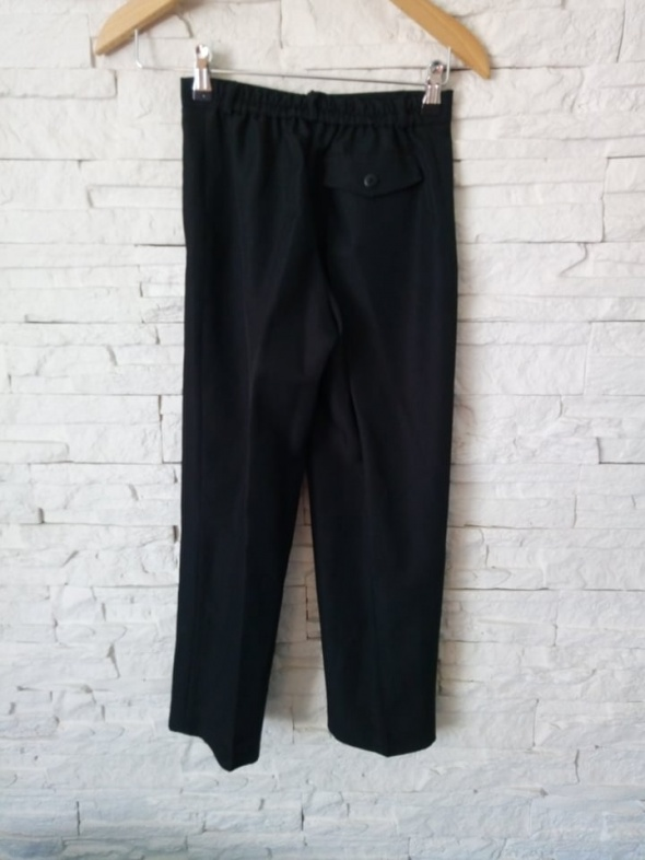 Spodnie Czarne Eleganckie Galowe NOWE