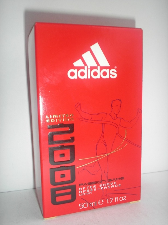 Męski płyn po goleniu Adidas Passion Game edycja limitowana 50 ml