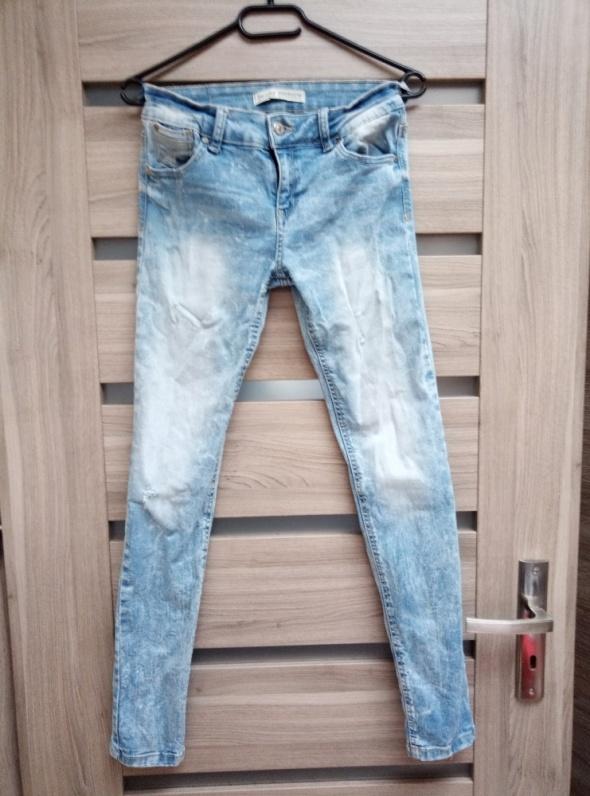 Bershka jeansy skinny