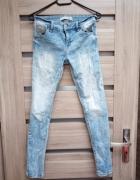 Bershka jeansy skinny...