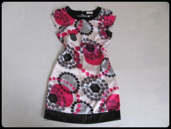Sukienka kolorowa XS 34 i S 36