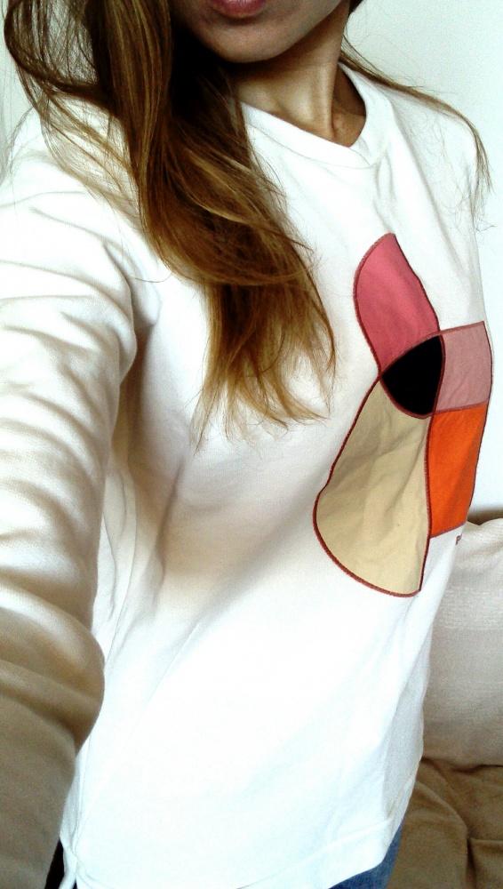 Biała bluza Bench S...