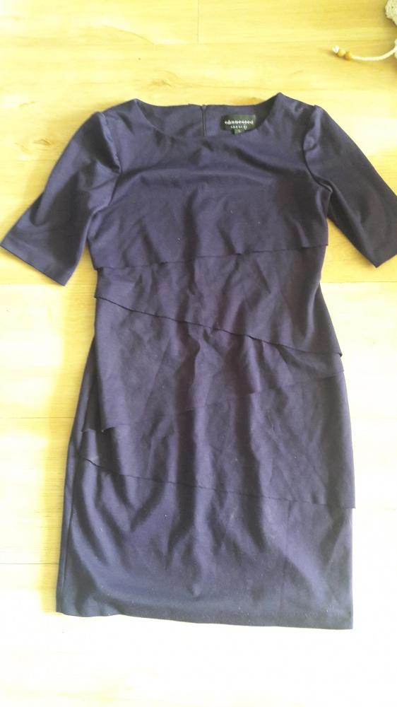 sukienka fioletowa S M...