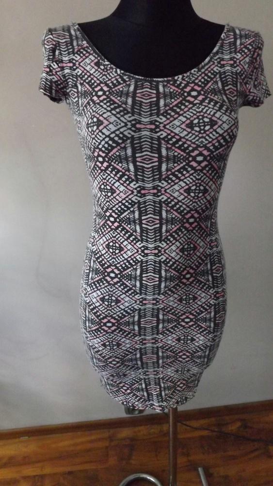 Suknie i sukienki Mini wzorzysta S