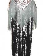 n o w a bardzo zmysłowa sukienka cekiny FRĘDZLE...
