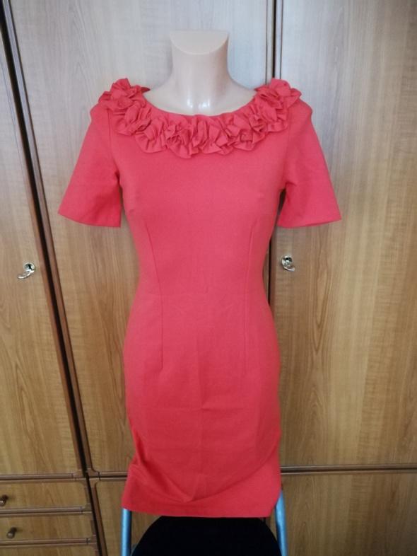 Piękna sukienka pomarańczowa Orsay S NOWA z metkami...