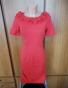 Piękna sukienka pomarańczowa Orsay S NOWA z metkami
