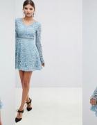Piękna sukienka gipiurowa Boohoo M NOWA