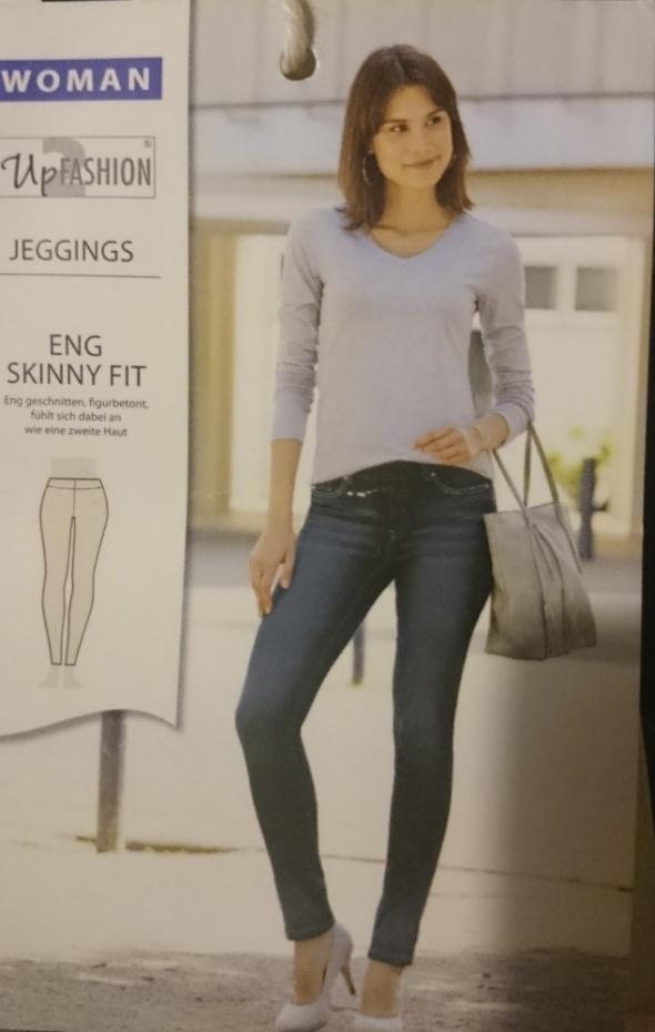 Spodnie Modne damskie spodnie legginsy tregginsy Skiny Fit 36 S NOWE