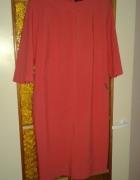 Sukienka koralowa WESLEY z metką wesele polecam...