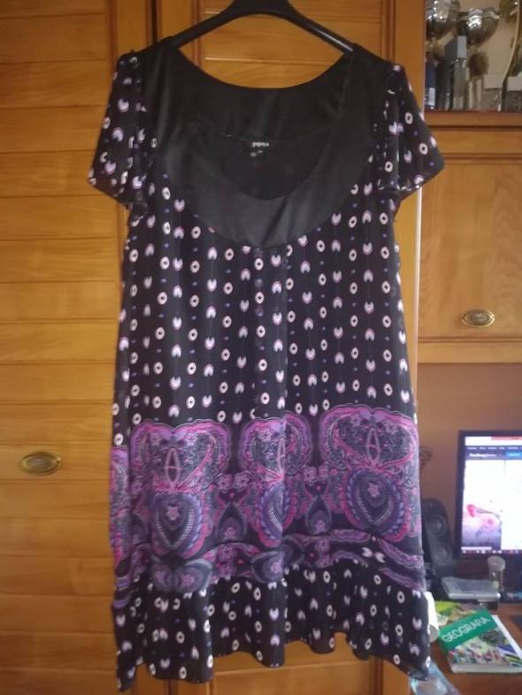 PAPAYA śliczna sukienka dla puszystej 48