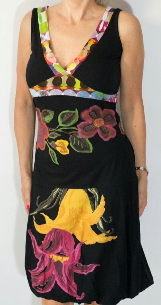 Suknie i sukienki Desigual sukienka bombka M