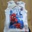 Nowy letni komplet bluzka bez rękawów spodenki Spiderman 98 104