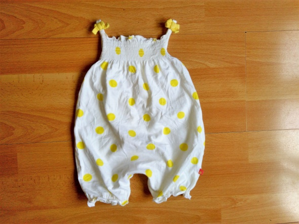 NEW BABY Mothercare krótki kombinezon lato 52 do 56