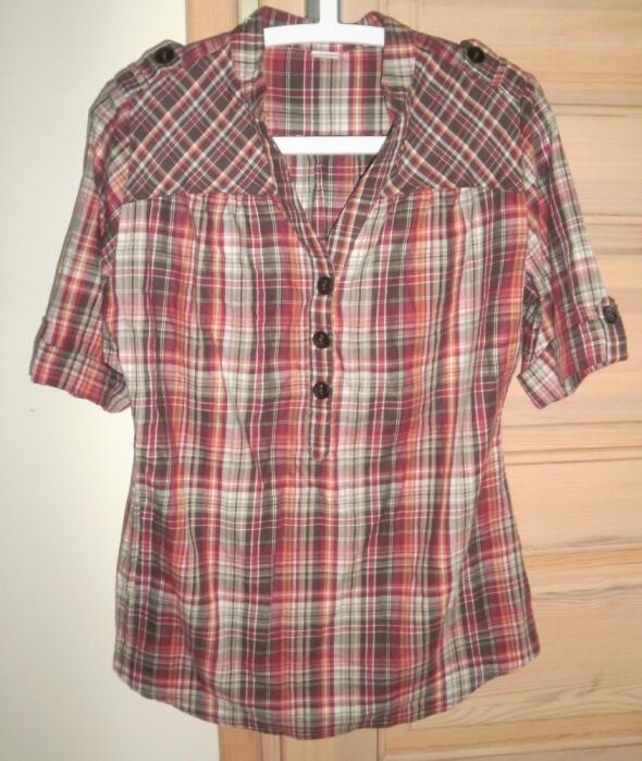 Koszule Camaieu nowa koszula bluzka w kratke krata