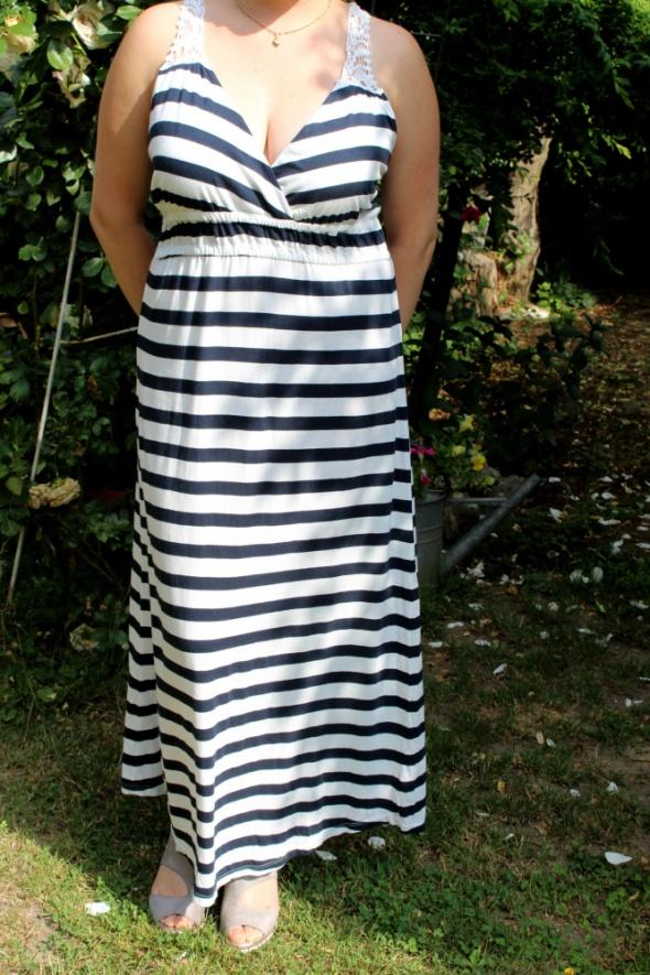Długa letnia sukienka r XL