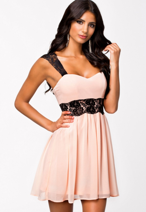 sukienka szyfonowa na bal M
