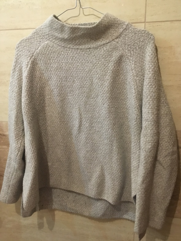 Sweter mango 36 S 38 M beżowy
