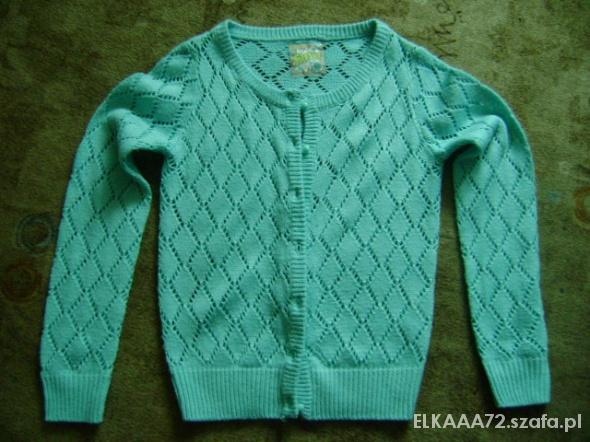 Pozostałe Sweter sweterek 140 146 Mięta