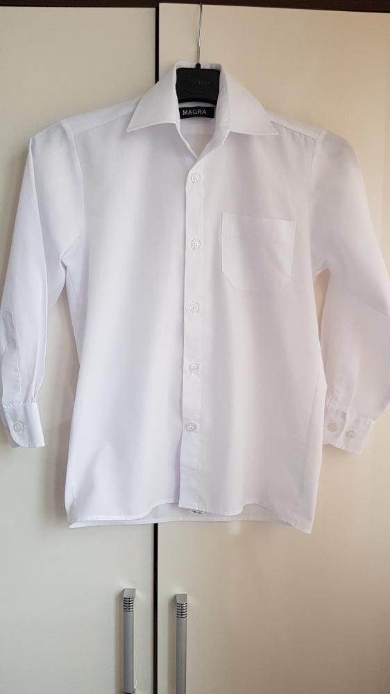 Biała koszula chłopięca Magra 134