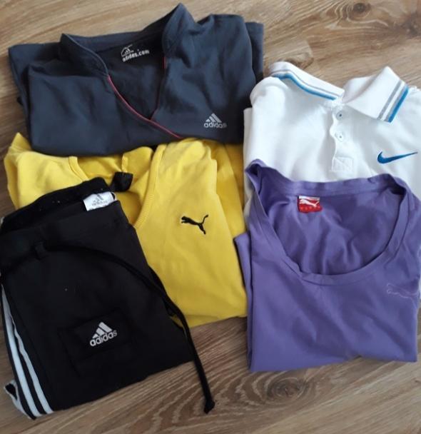 Zestaw Nike Puma Adidas