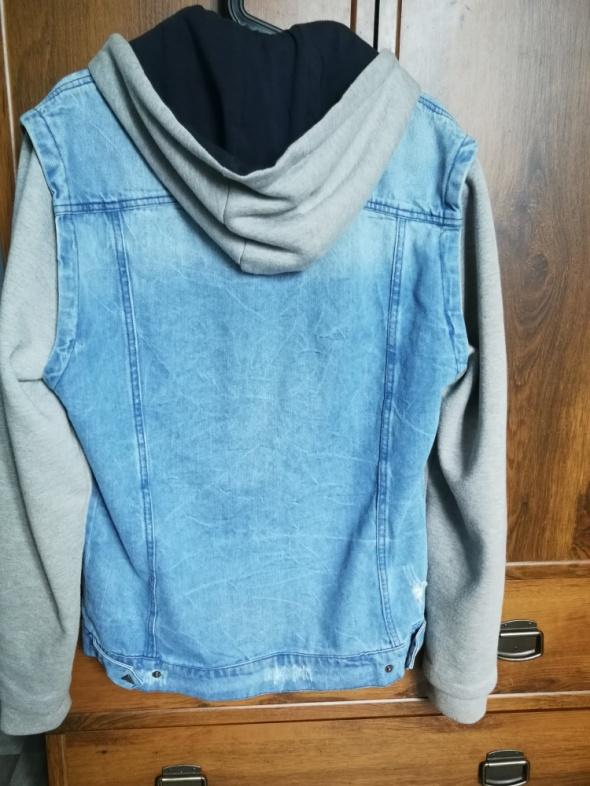 Bluza katana jeansowa bershka...