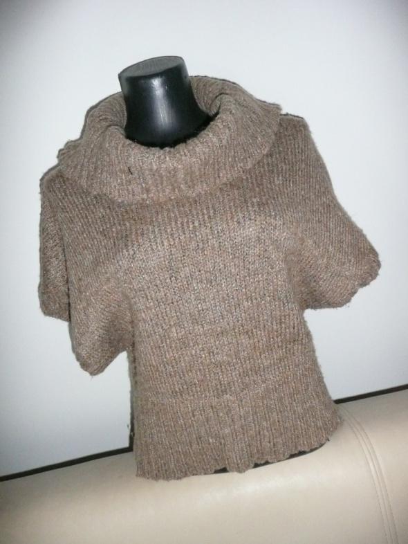 sweterek kamizelka dzianina golf