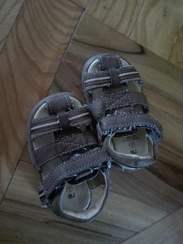 Sandałki chłopiec Nowe