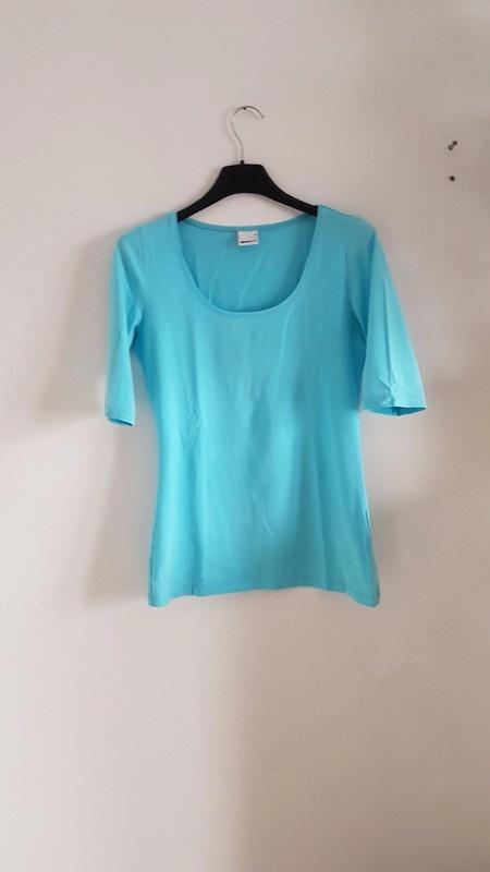 Gina Tricot turkus bluzka baby blue...