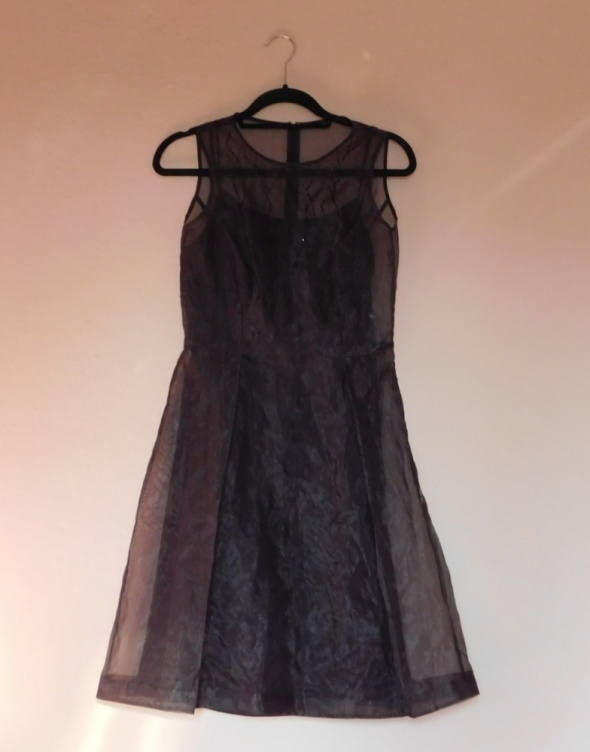 Suknie i sukienki Next brązowa sukienka 38