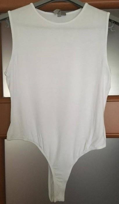 Białe body Asos...