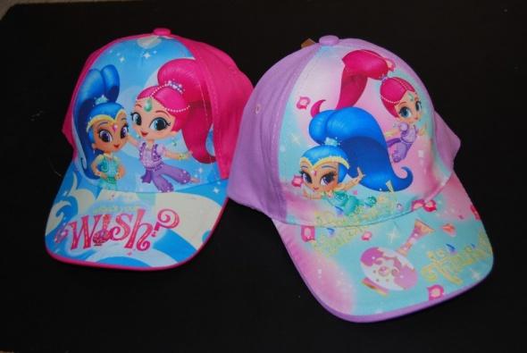Nowe czapeczki Shimmer i Shine...