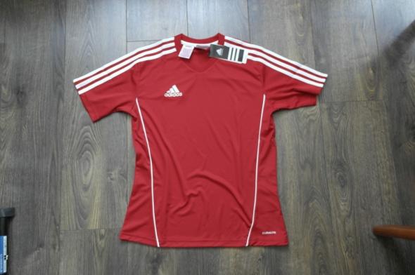 Czerwona nowa bluzka Adidas 164