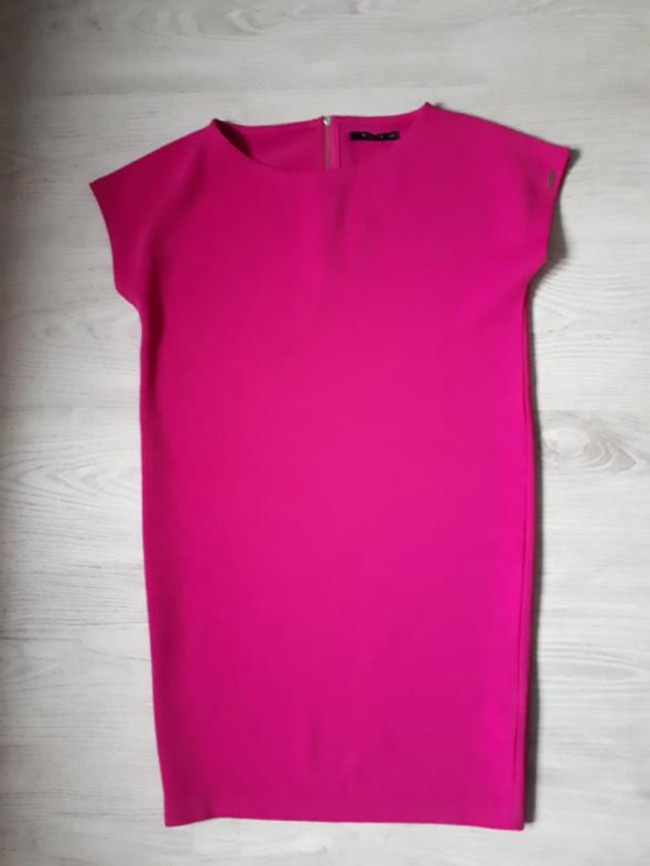 Różowa fuksja sukienka mohito xs