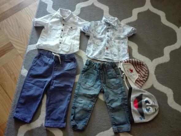 Spodnie i spodenki Spodnie koszule chłopiec