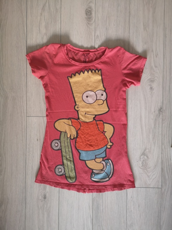 Koszulki Koszulka Bershka S M Simpson