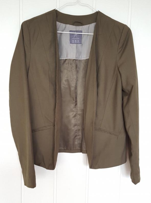 Zielona khaki marynarka Atmosphere Primark 42 XL blazer militarna zielen