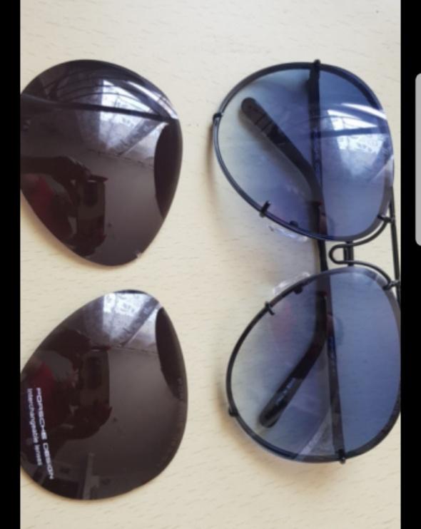 Okulary przeciwsłoneczne pilotki Porsche p7848 DESIGN glamour Nowe