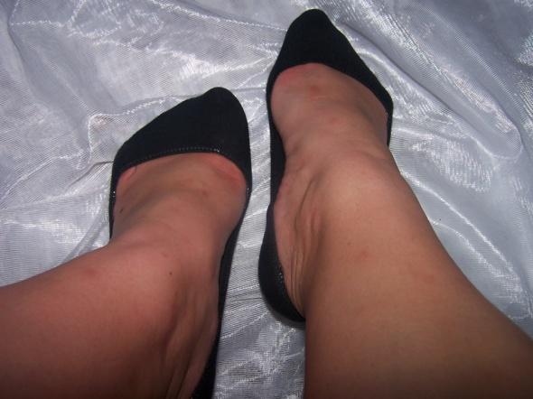 Stopki do balerinek używane czarne