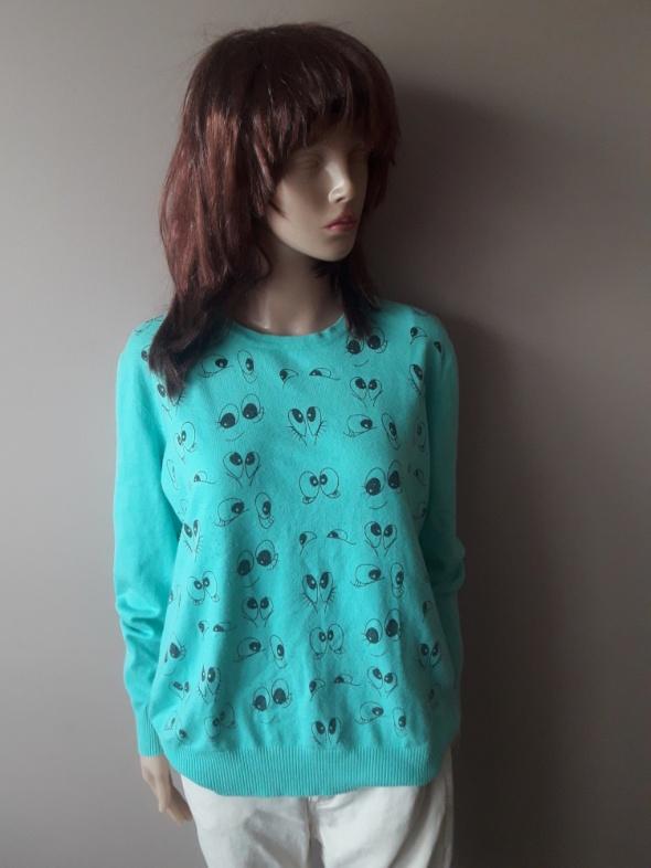Sweter Błękitny XL XXL...
