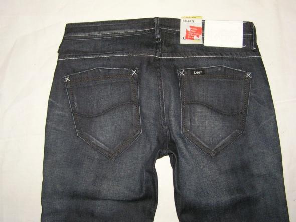 LEE spodnie DARK jeans zip low SELAWIK W28 L33...