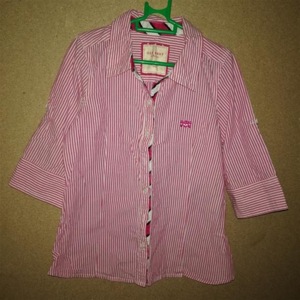 Dziewczęca koszula w paski 134 140 cm 10 lat