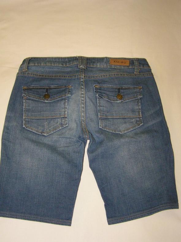 Spodenki Szorty spodenki jeansowe AMISU