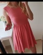 Dorothy perkins sukienka różowa rozkloszowana M