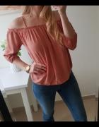 New look bluzka odkryte ramiona S M