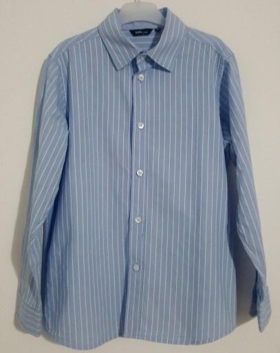 Koszula Chłopięca Lindex Błękitna Paski r 140