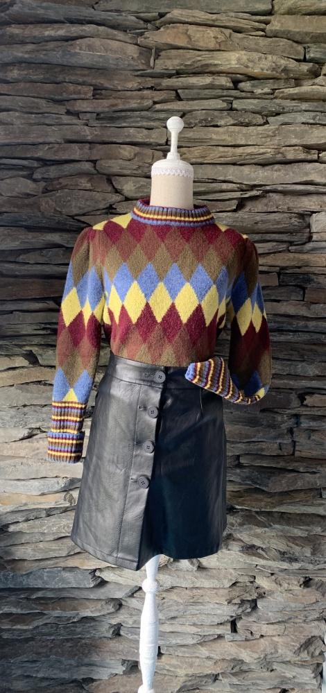 Swetry SWTER ZARA W ROMBY KOLOROWE